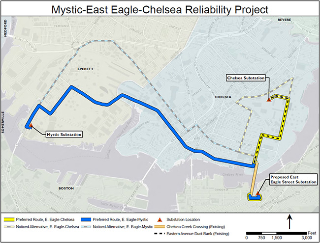 Mystic - East Eagle - Chelsea Project Map