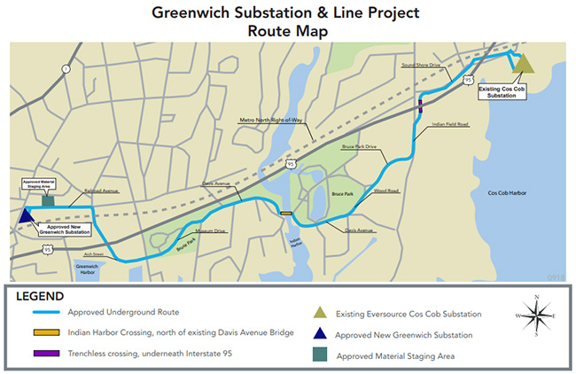 Greenwich project map