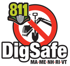 Call Dig Safe at 811 before you dig.