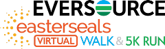 Eversource virtual walk and run for Easterseals logo