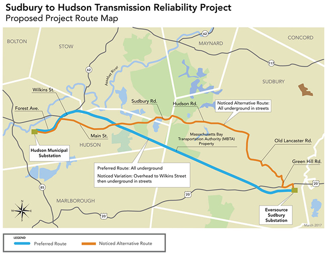 Eversource Sudbury to Hudson Project